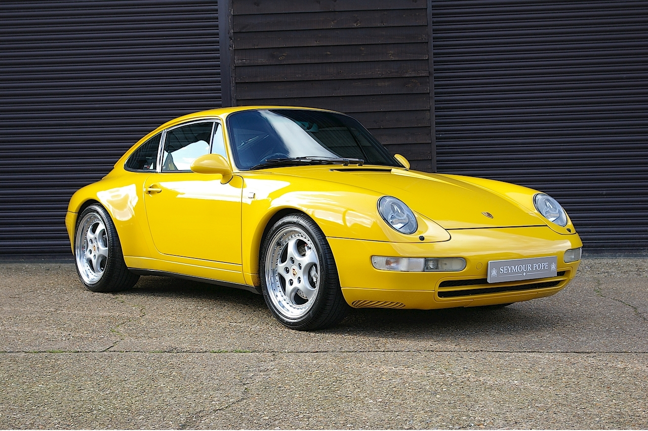 Porsche 911 993 Carrera 4 3.6 Coupe 6 Speed Manual - Large 0