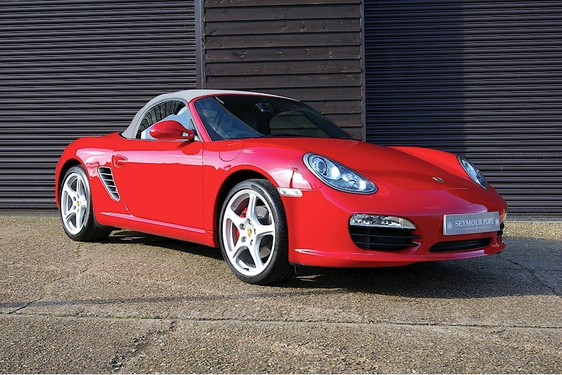 Porsche Boxster 987.2 Boxster S 3.4 24V Convertible 6 Speed Manual