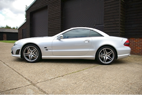 Sl SL 63 AMG PERFORMANCE PACK PPP 6.2 2dr Convertible Automatic Petrol