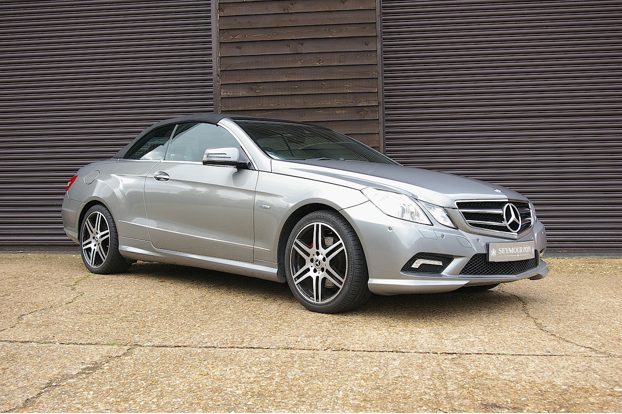 Mercedes-Benz E Class E250 CDI BlueEFFICIENCY AMG Sport Cabriolet 2dr Automatic - Large 0