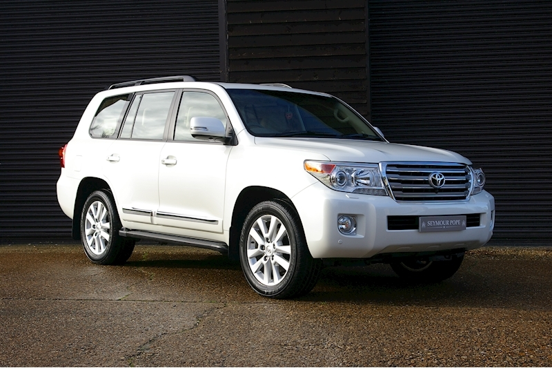 Toyota Land Cruiser AMAZON 4.5 D-4D SUV 5dr 7 SEATS Diesel Automatic (250 g/km, 272 bhp)
