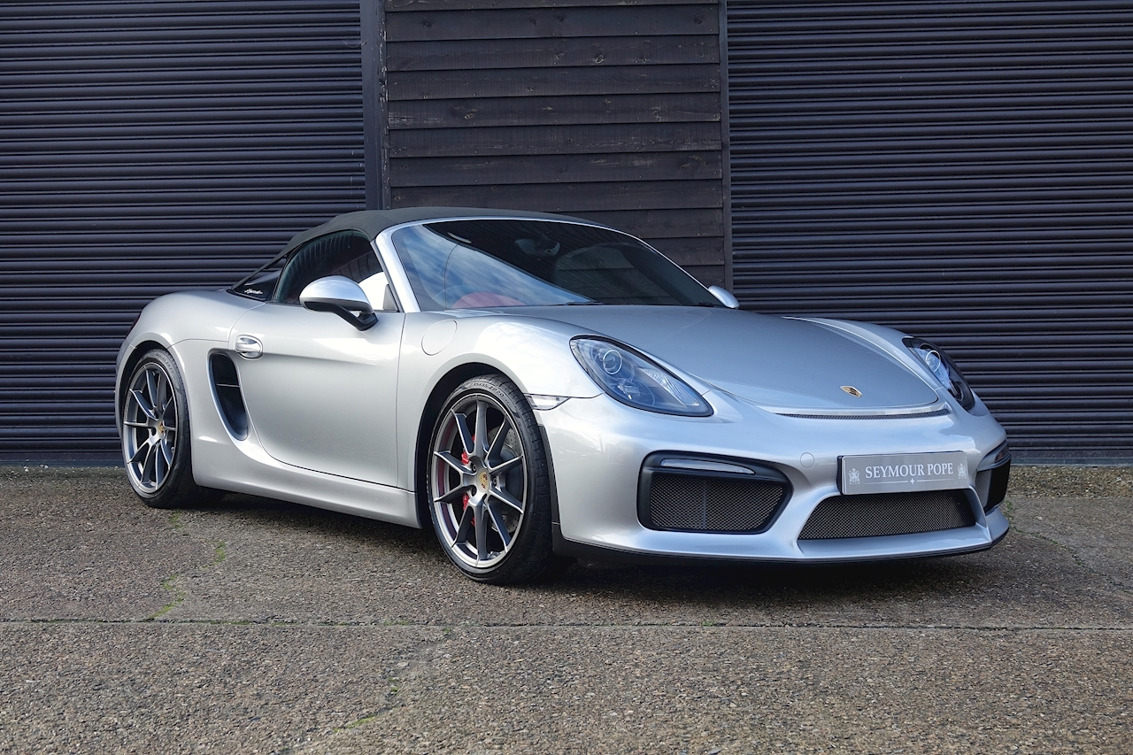 Porsche 981 Boxster Spyder 3.8 Convertible 6 Speed Manual - Large 0