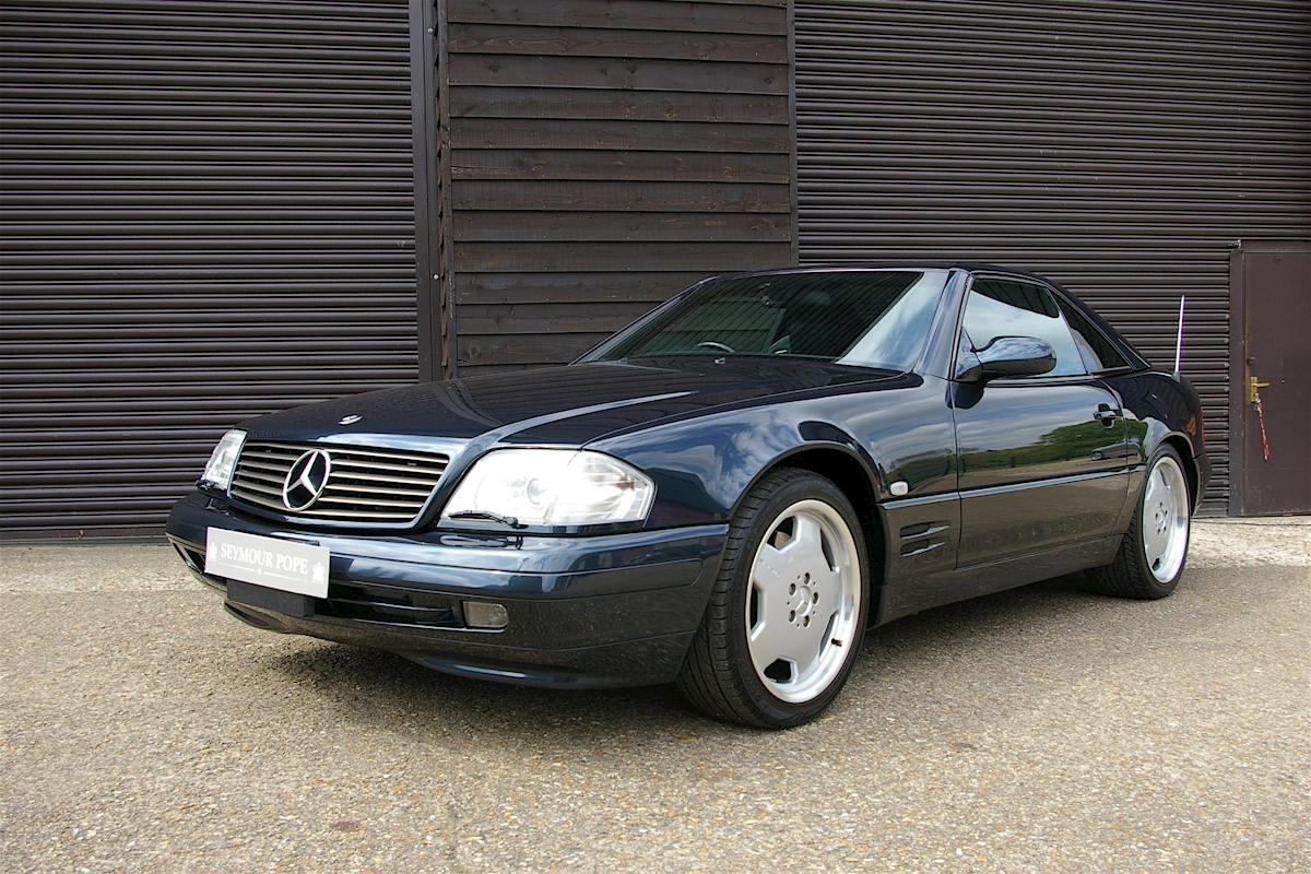 Used mercedes benz sl320 roadster automatic seymour pope for Mercedes benz sl320 for sale
