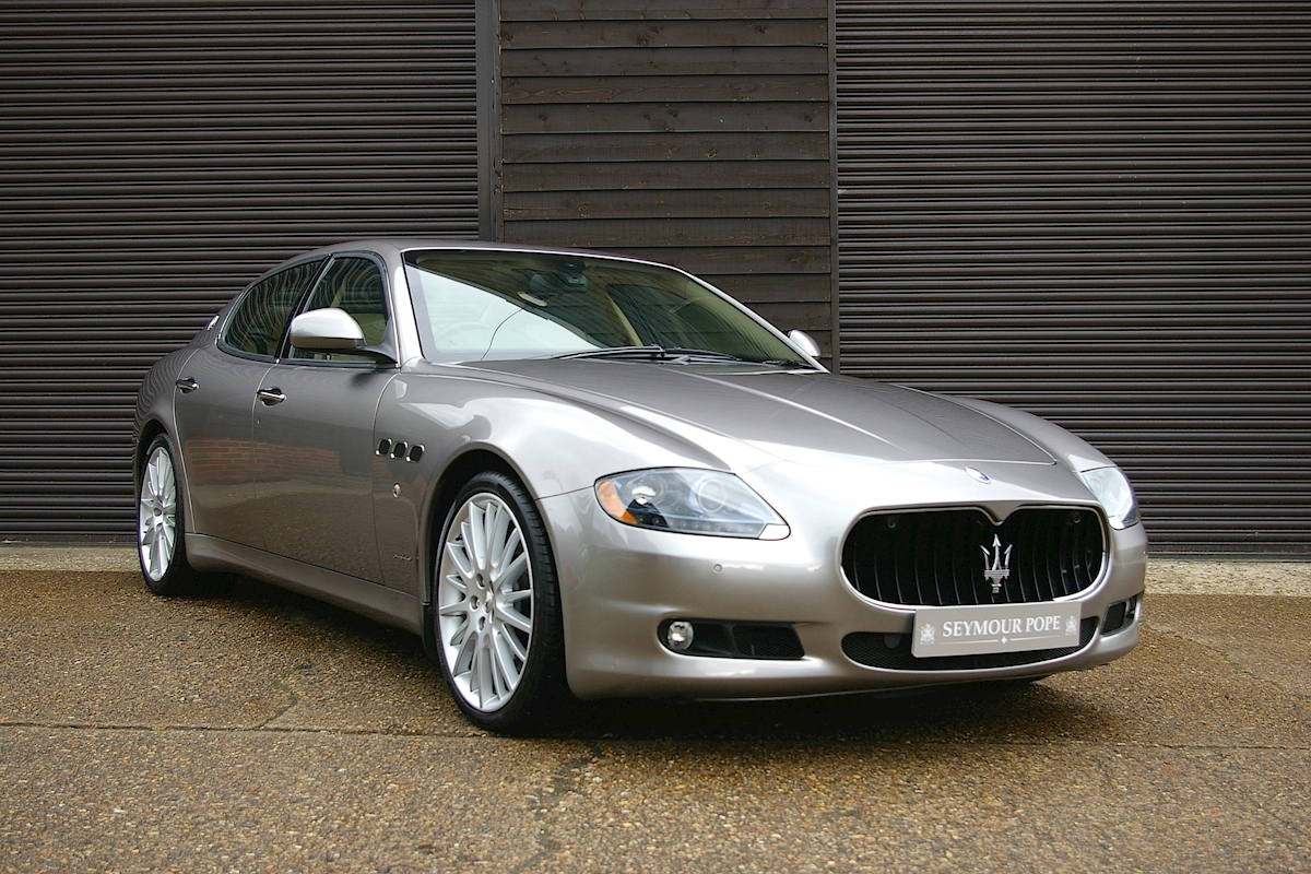 used maserati quattroporte 4 7 sport gts automatic saloon seymour pope. Black Bedroom Furniture Sets. Home Design Ideas