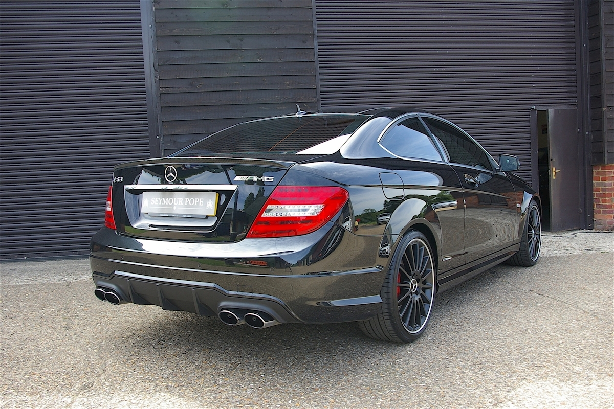 used mercedes benz c class c63 amg edition 125 performance pack plus seymour pope. Black Bedroom Furniture Sets. Home Design Ideas