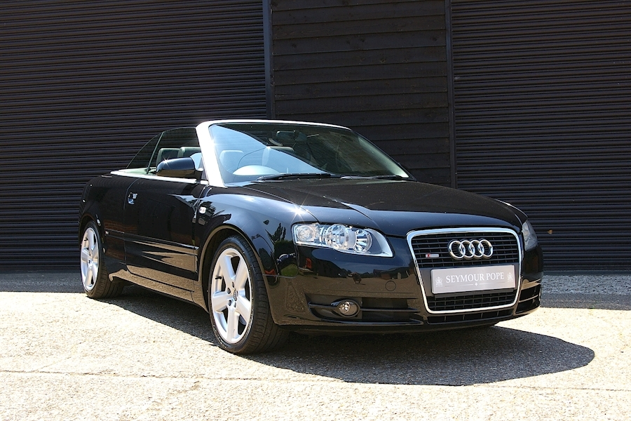 Audi A4 2.0T FSI S- Line Special Edition Convertible 6 Speed Manual
