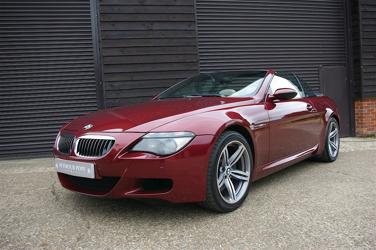 used bmw 6 series m6 5 0 v10 convertible smg ii seymour pope. Black Bedroom Furniture Sets. Home Design Ideas