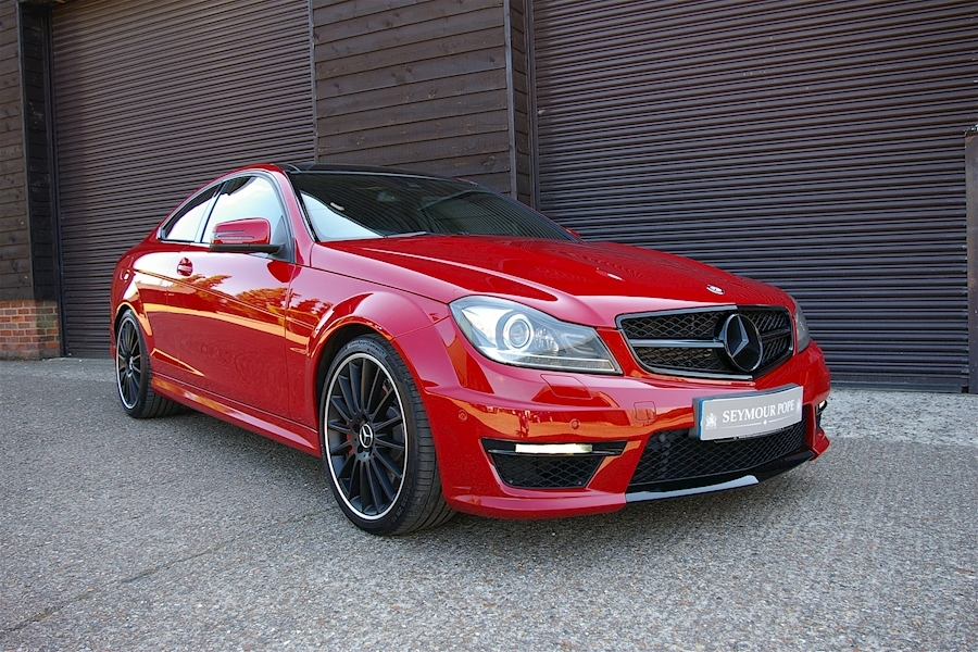 Mercedes-Benz C Class C63 Amg Coupe Perfomance Package Plus