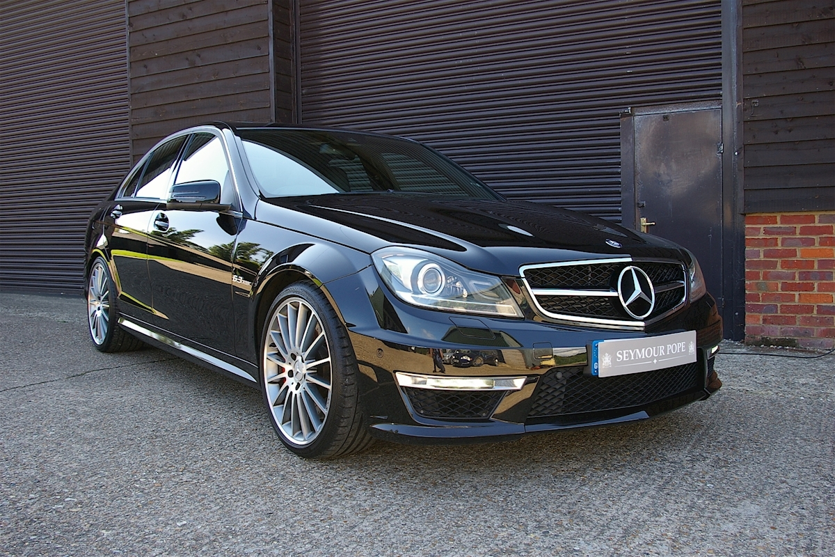 used mercedes benz c class c63 amg edition 125 performance package seymour pope. Black Bedroom Furniture Sets. Home Design Ideas