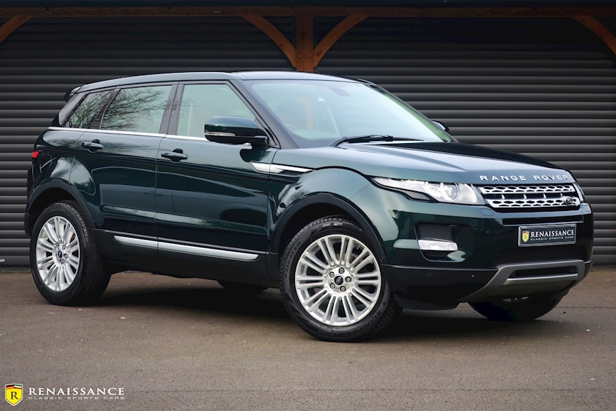 Range Rover Evoque Sd4 Prestige Lux Estate 2.2 Manual Diesel