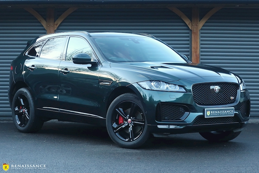 F-Pace S V6 Awd 3.0 5dr Estate Automatic Diesel