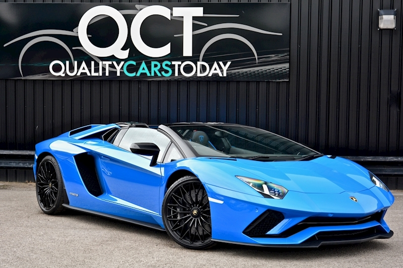 Lamborghini Aventador S Roadster Huge Specfication + £350k List Price Image 0