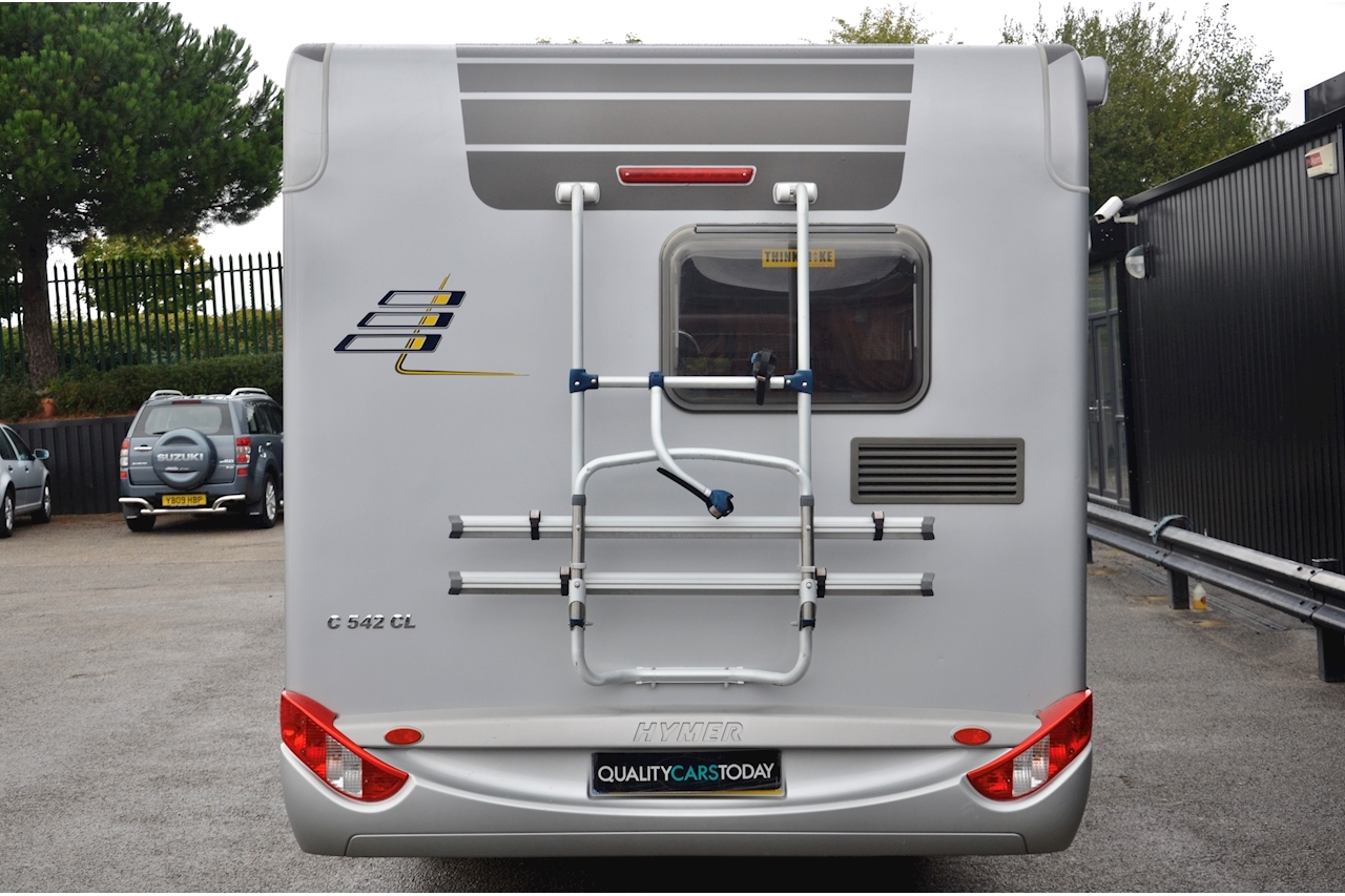 Hymer C542CL Just 20k Miles + High Spec + Exceptional Condition - Large 4