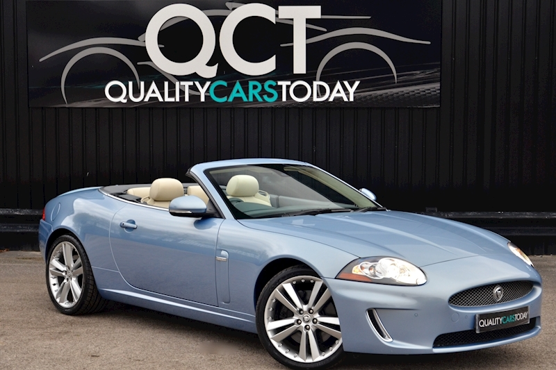 Jaguar XK Portfolio Convertible Just 26k Miles + New Dunlop Tyres + Desirable Spec Image 0