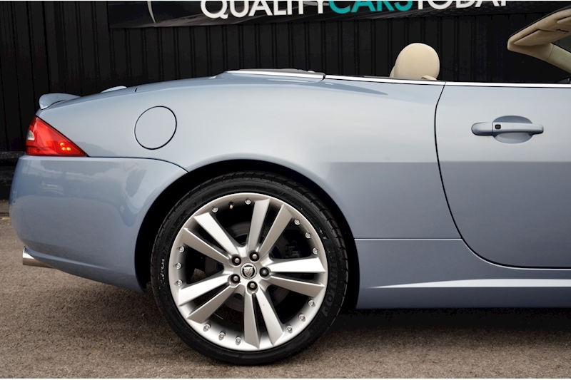Jaguar XK Portfolio Convertible Just 26k Miles + New Dunlop Tyres + Desirable Spec Image 13