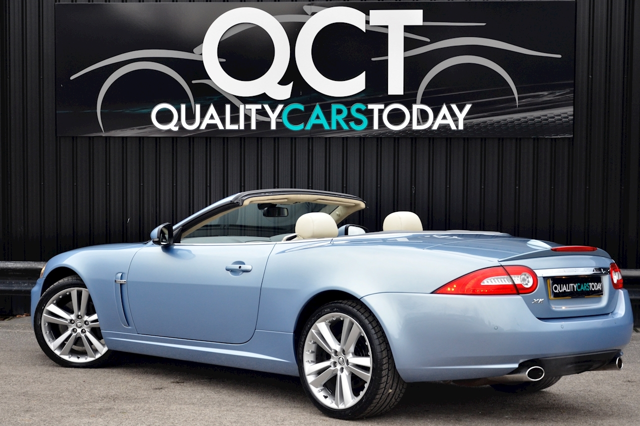 Jaguar XK Portfolio Convertible Just 26k Miles + New Dunlop Tyres + Desirable Spec - Large 1