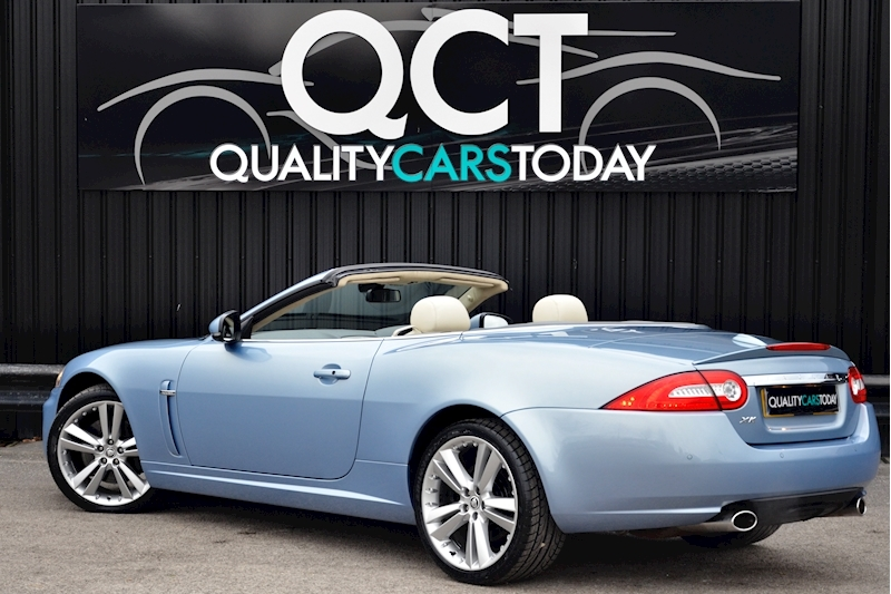 Jaguar XK Portfolio Convertible Just 26k Miles + New Dunlop Tyres + Desirable Spec Image 1