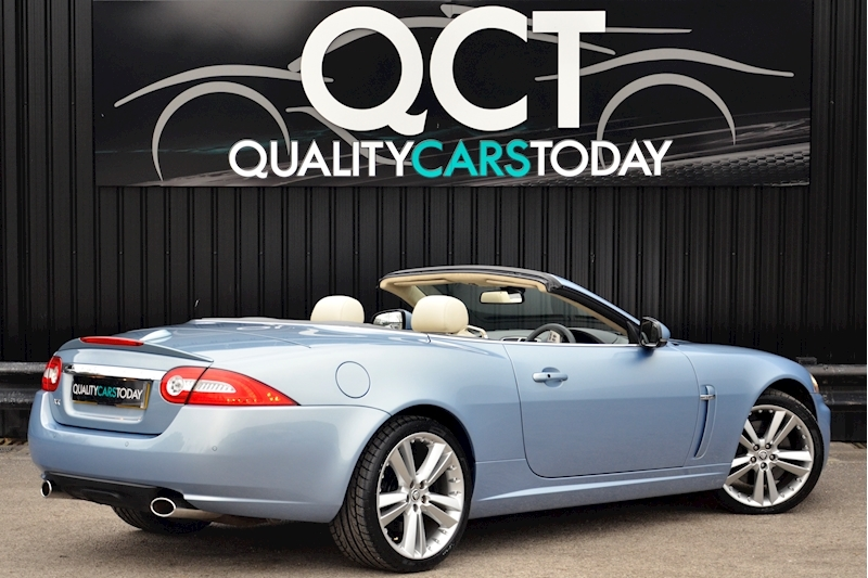 Jaguar XK Portfolio Convertible Just 26k Miles + New Dunlop Tyres + Desirable Spec Image 8