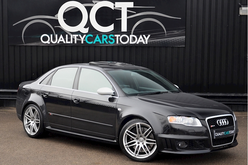 RS4 4.2 Saloon 4dr Petrol Manual quattro (324 g/km, 415 bhp) 4.2 4dr Saloon Manual Petrol