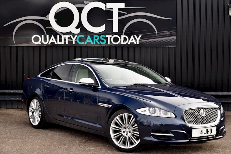 Jaguar XJ Portfolio 1 Owner + FSH + Huge Spec + Rear Entertainment Image 0