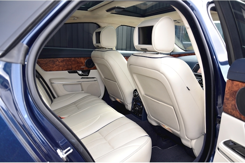 Jaguar XJ Portfolio 1 Owner + FSH + Huge Spec + Rear Entertainment Image 18
