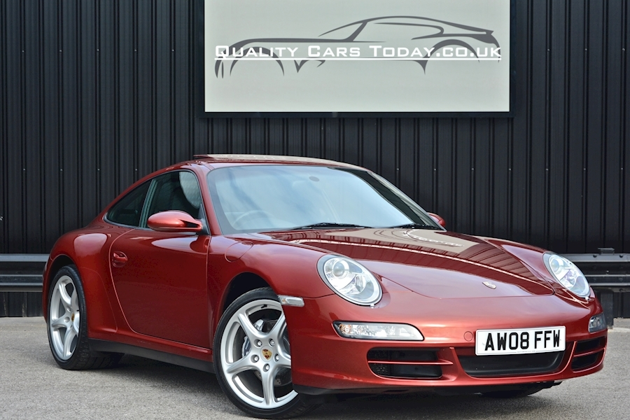 Porsche 911 Carrera 4 Manual *Sunroof + Sports Exhaust + Sport Seats + Sport Shifter*