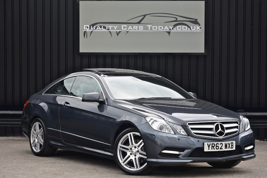 used mercedes e class e class e350 cdi blueefficiency sport 3 0 2dr coupe automatic diesel for. Black Bedroom Furniture Sets. Home Design Ideas