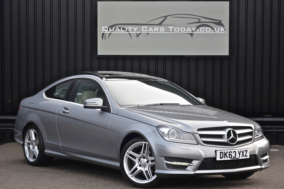 Mercedes C220 CDI AMG Sport Coupe *1 Former Keeper + Massive Specification* - Large 0