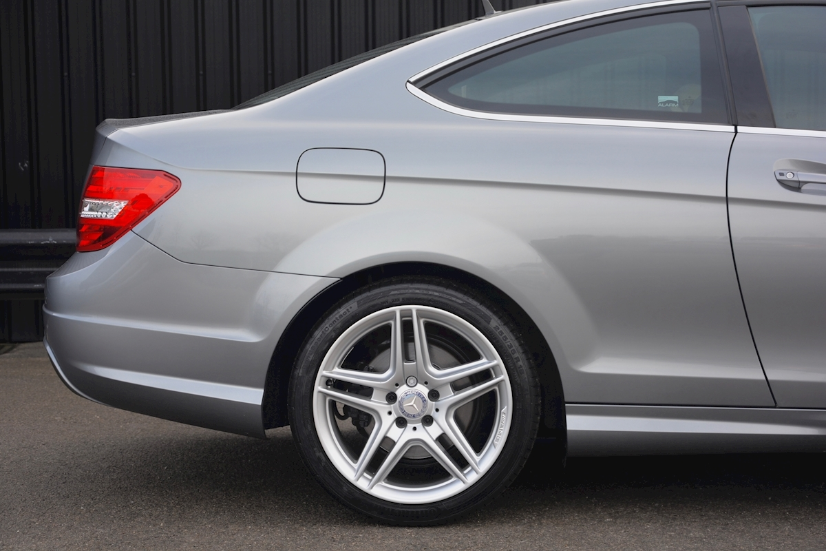 Mercedes C220 CDI AMG Sport Coupe *1 Former Keeper + Massive Specification* - Large 11