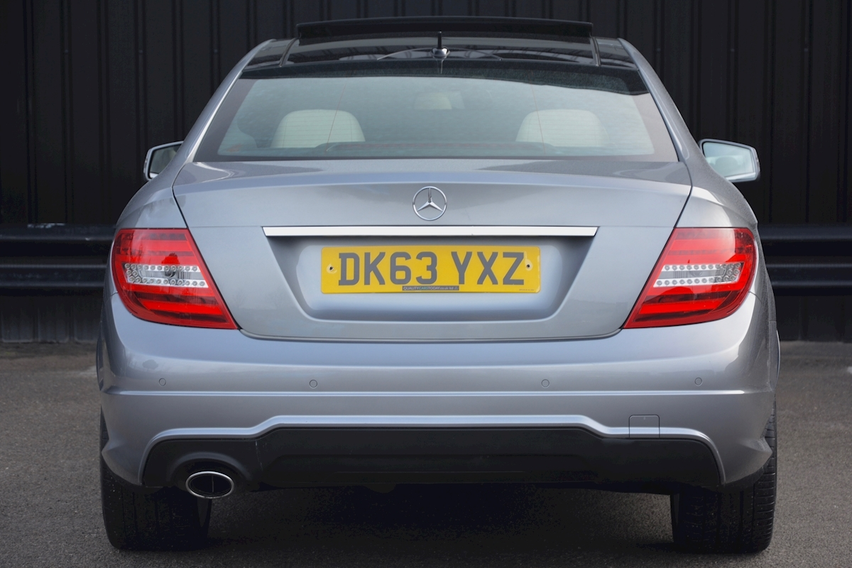 Mercedes C220 CDI AMG Sport Coupe *1 Former Keeper + Massive Specification* - Large 4