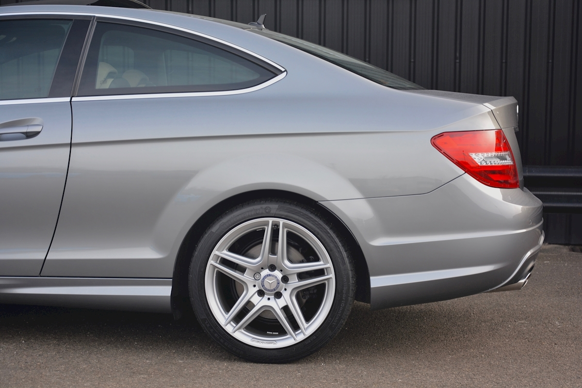 Mercedes C220 CDI AMG Sport Coupe *1 Former Keeper + Massive Specification* - Large 16