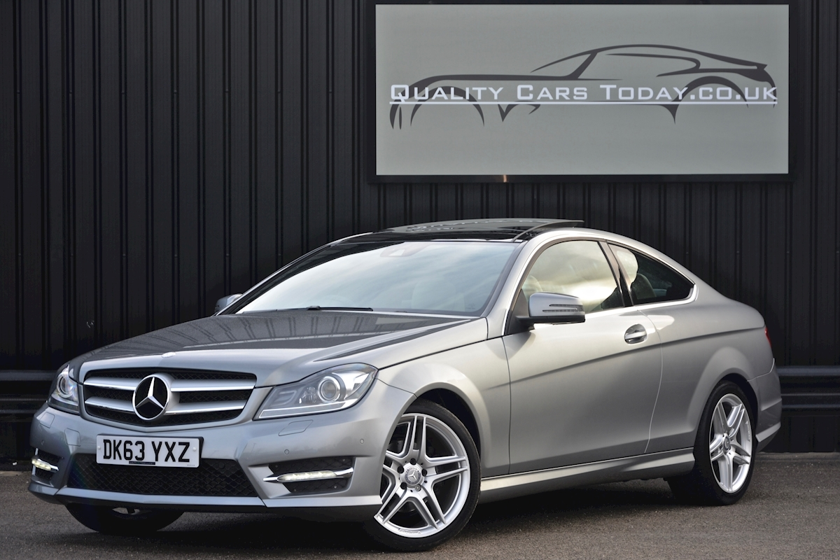 Mercedes C220 CDI AMG Sport Coupe *1 Former Keeper + Massive Specification* - Large 7