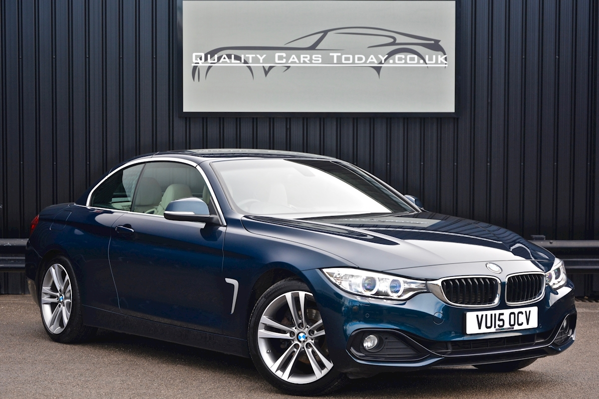Bmw 420i Sport Convertible *1 Lady Owner + BMW Warranty + Full BMW History* - Large 1