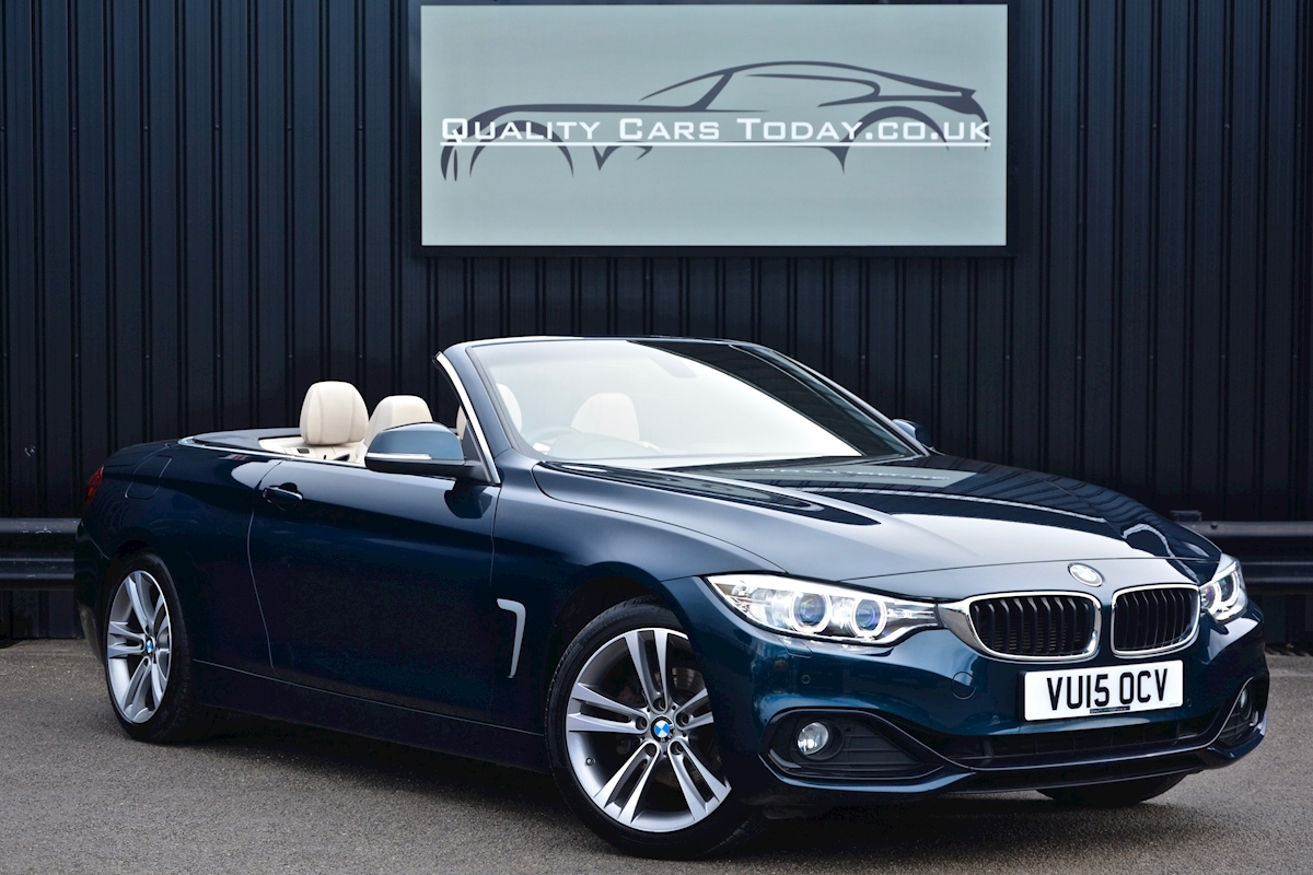 Bmw 420i Sport Convertible *1 Lady Owner + BMW Warranty + Full BMW History* - Large 0