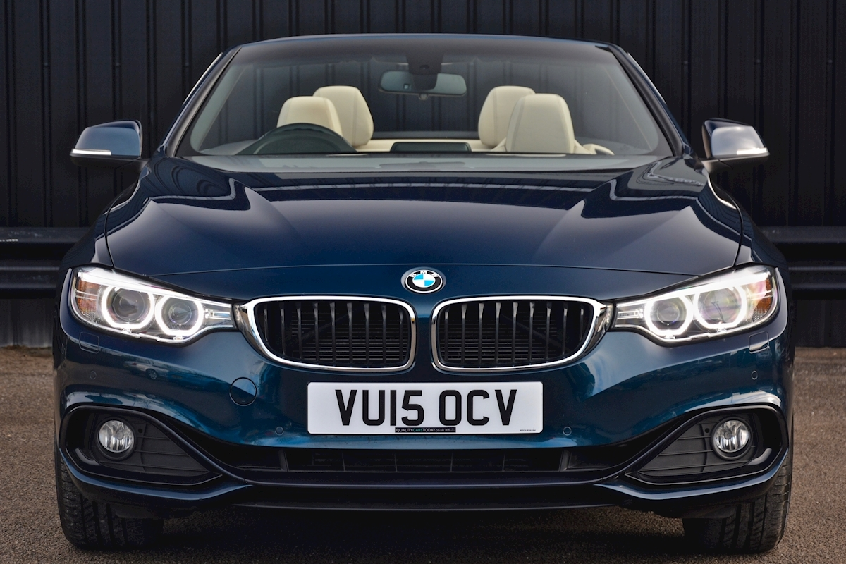 Bmw 420i Sport Convertible *1 Lady Owner + BMW Warranty + Full BMW History* - Large 3