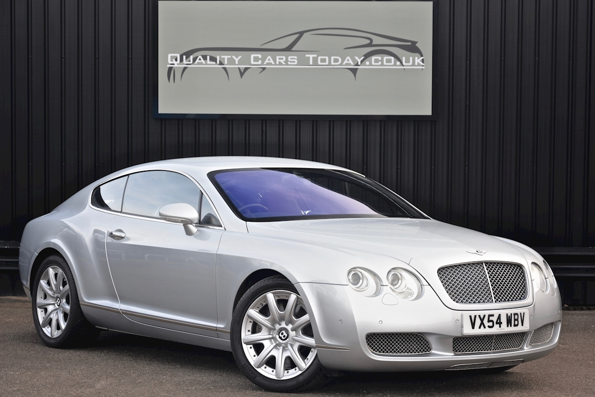 Bentley Continental GT 6.0 W12 *12 Bentley Main Dealer Stamps* - Large 0