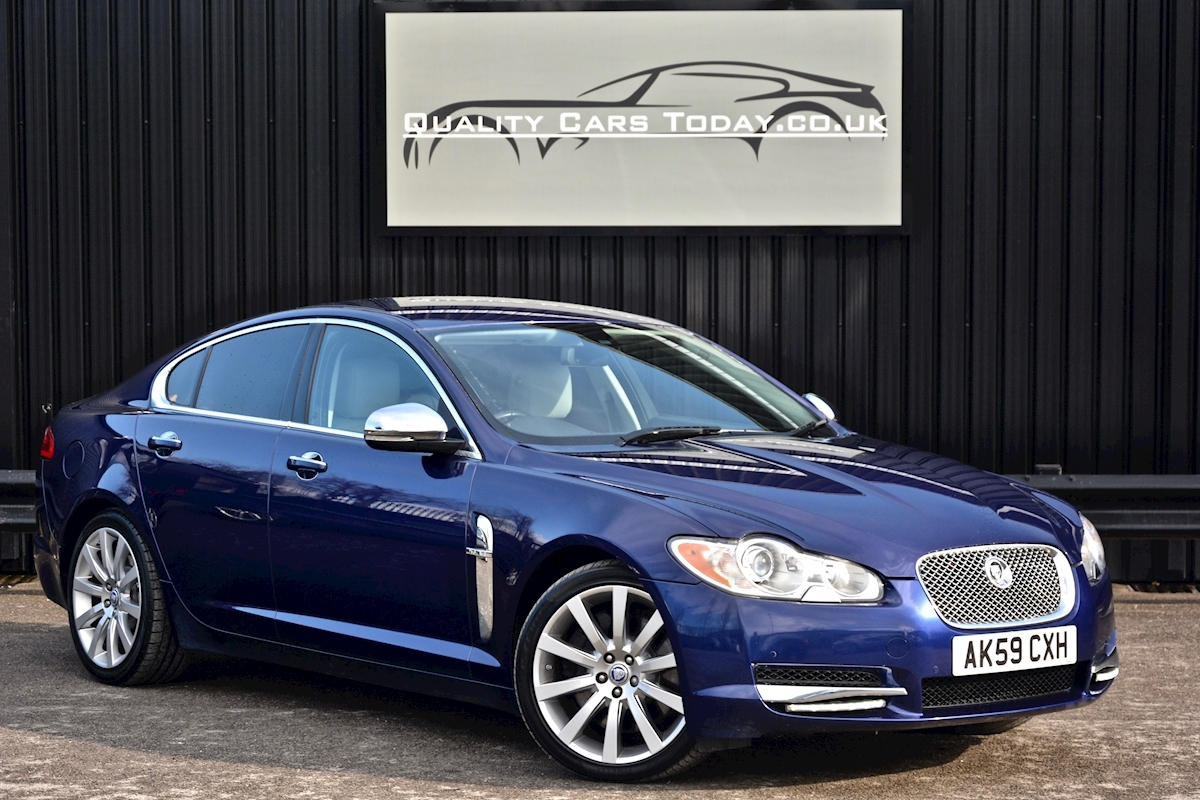 Used Jaguar Xf 3.0 V6 Premium Luxury Very Rare Specification For ...