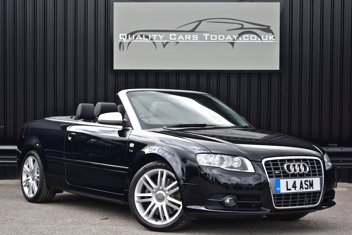Audi S4 4.2 V8 Quattro Convertible 1 Former Keeper + Full Audi Main Dealer History - Large 0