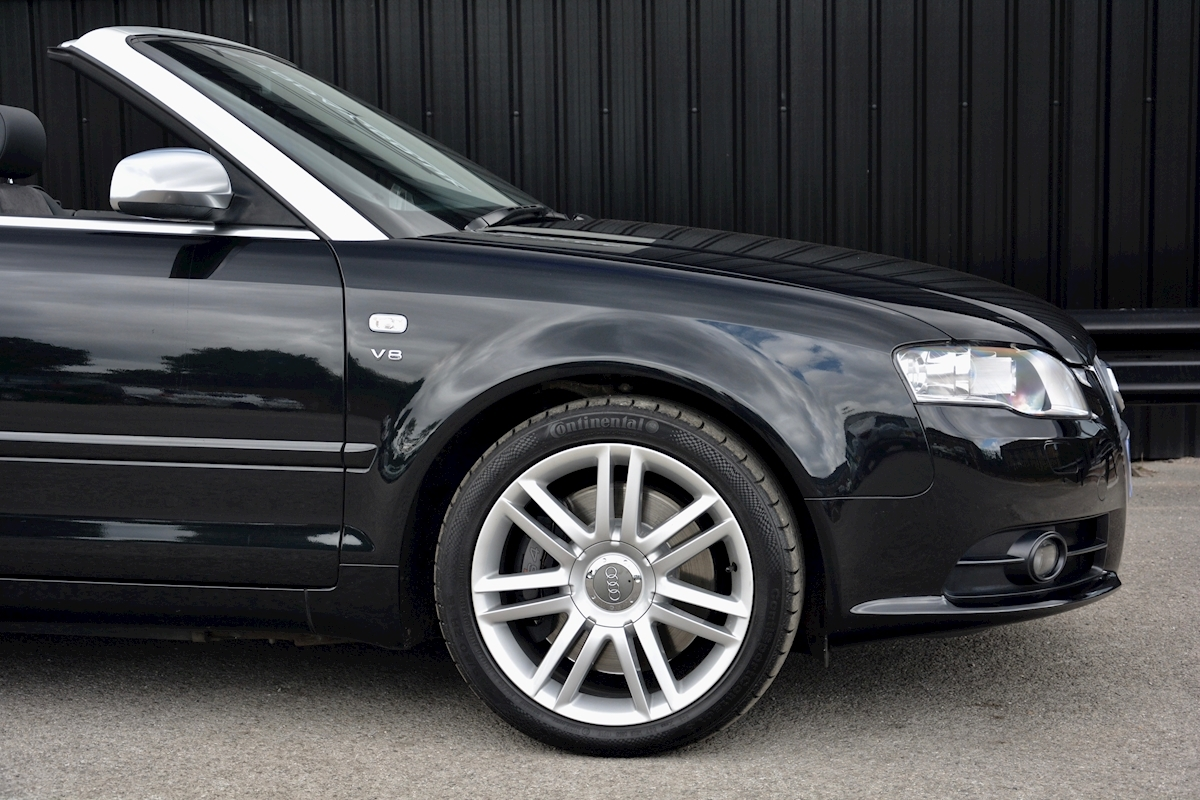 Audi S4 4.2 V8 Quattro Convertible 1 Former Keeper + Full Audi Main Dealer History - Large 13