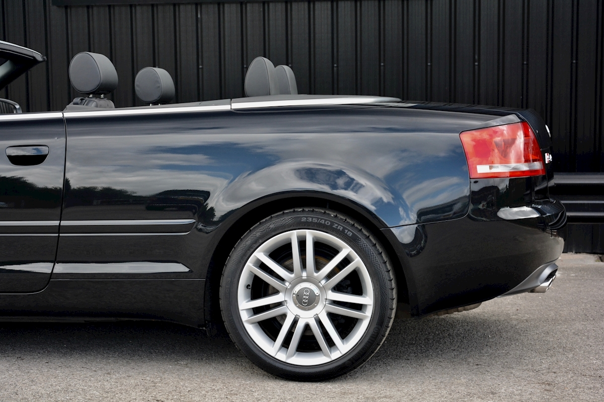 Audi S4 4.2 V8 Quattro Convertible 1 Former Keeper + Full Audi Main Dealer History - Large 17