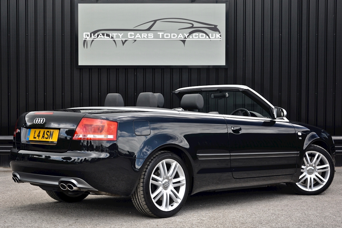 Audi S4 4.2 V8 Quattro Convertible 1 Former Keeper + Full Audi Main Dealer History - Large 10
