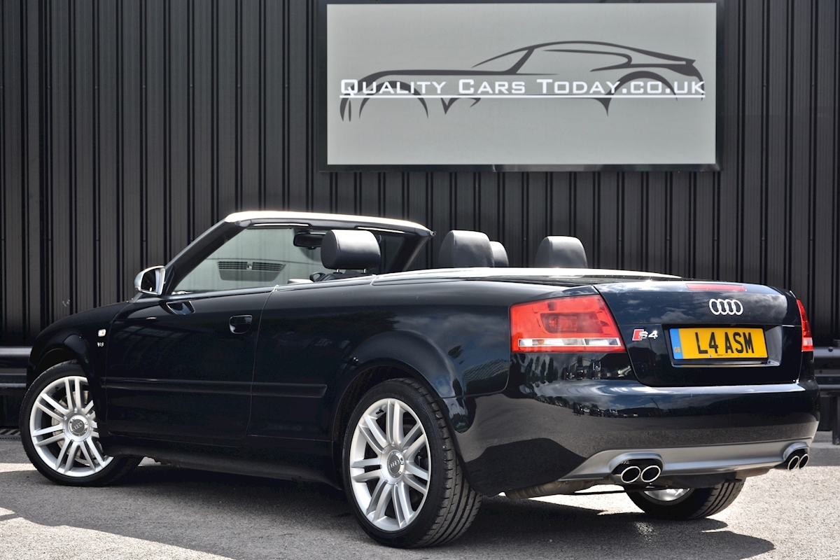 Audi S4 4.2 V8 Quattro Convertible 1 Former Keeper + Full Audi Main Dealer History - Large 9