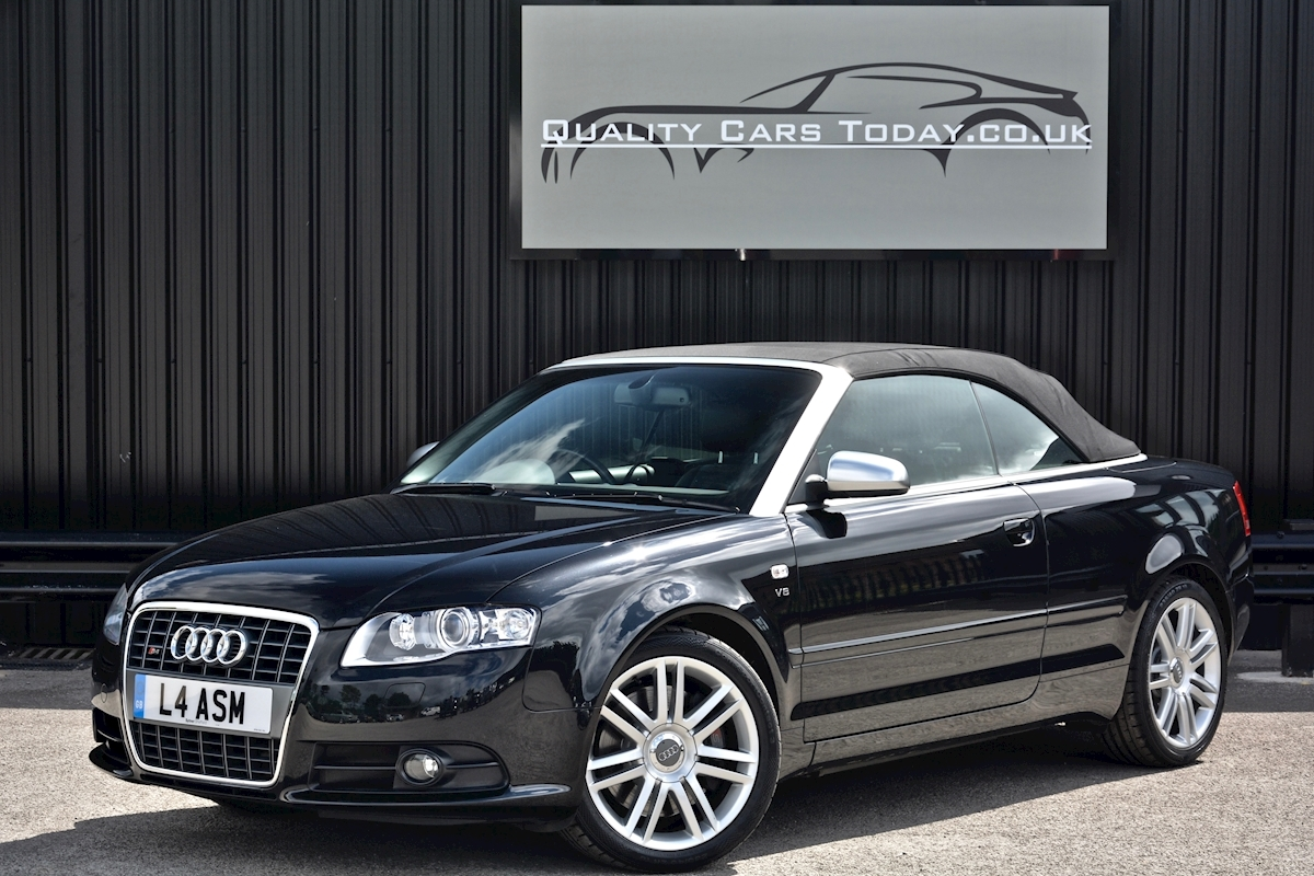 Audi S4 4.2 V8 Quattro Convertible 1 Former Keeper + Full Audi Main Dealer History - Large 8