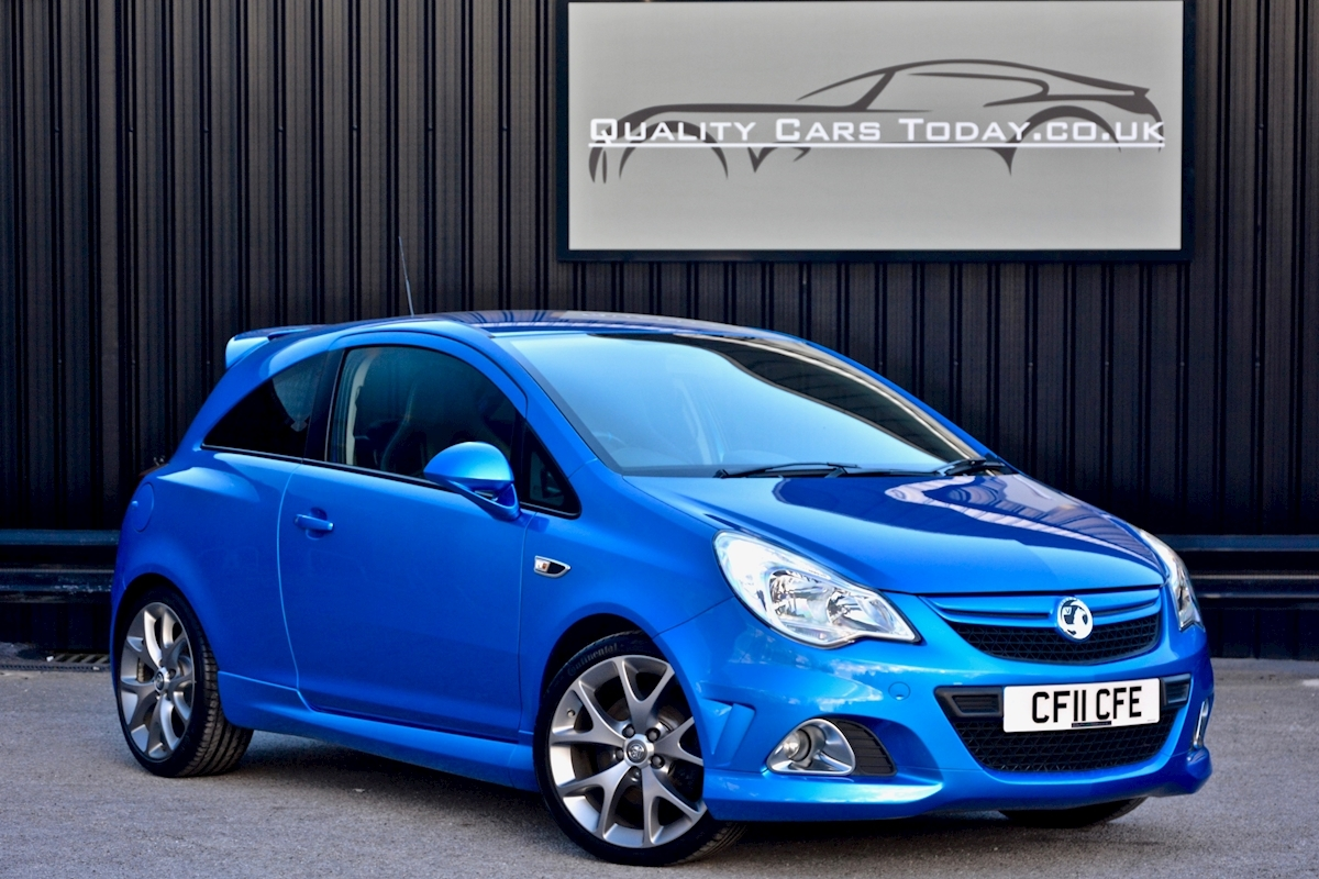 Vauxhall Corsa VXR Blue Edition Full Vauxhall Main Dealer History - Large 0