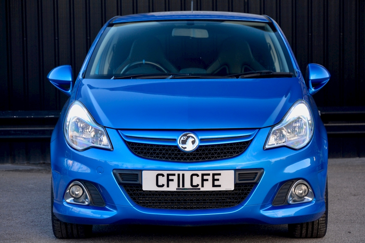 Vauxhall Corsa VXR Blue Edition Full Vauxhall Main Dealer History - Large 3