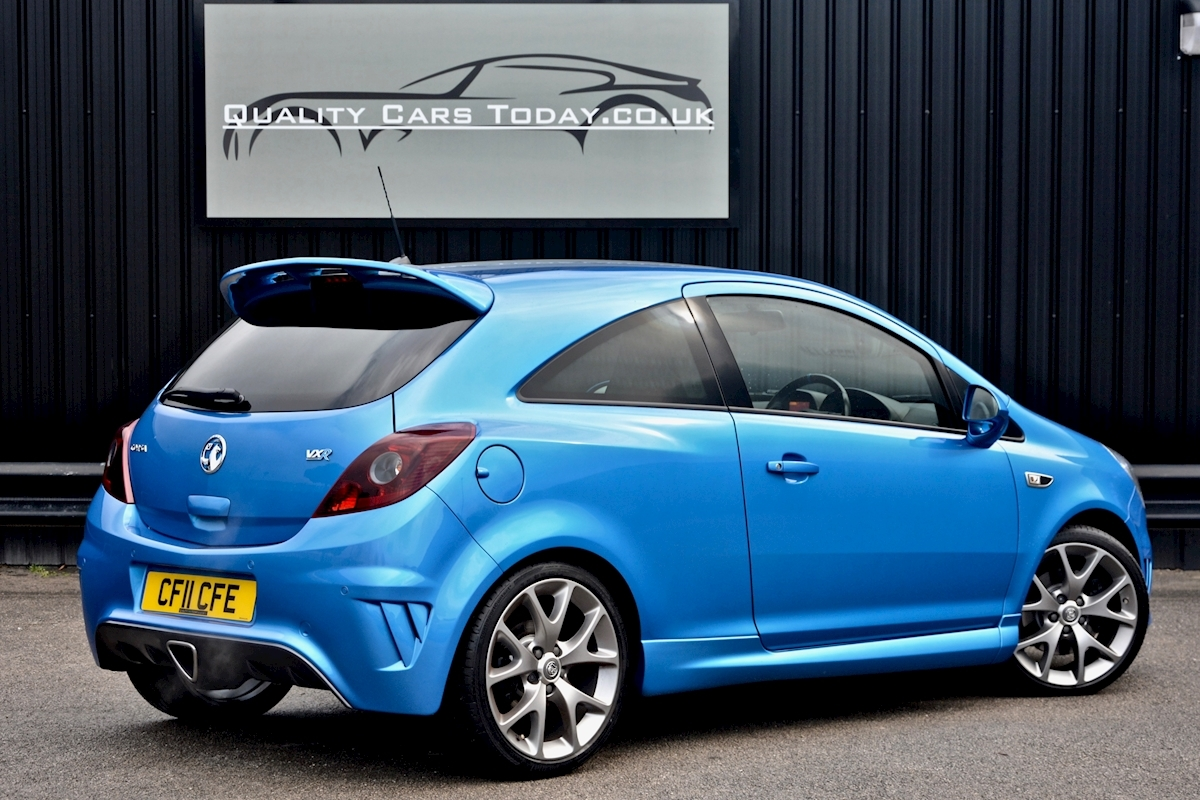 Vauxhall Corsa VXR Blue Edition Full Vauxhall Main Dealer History - Large 11