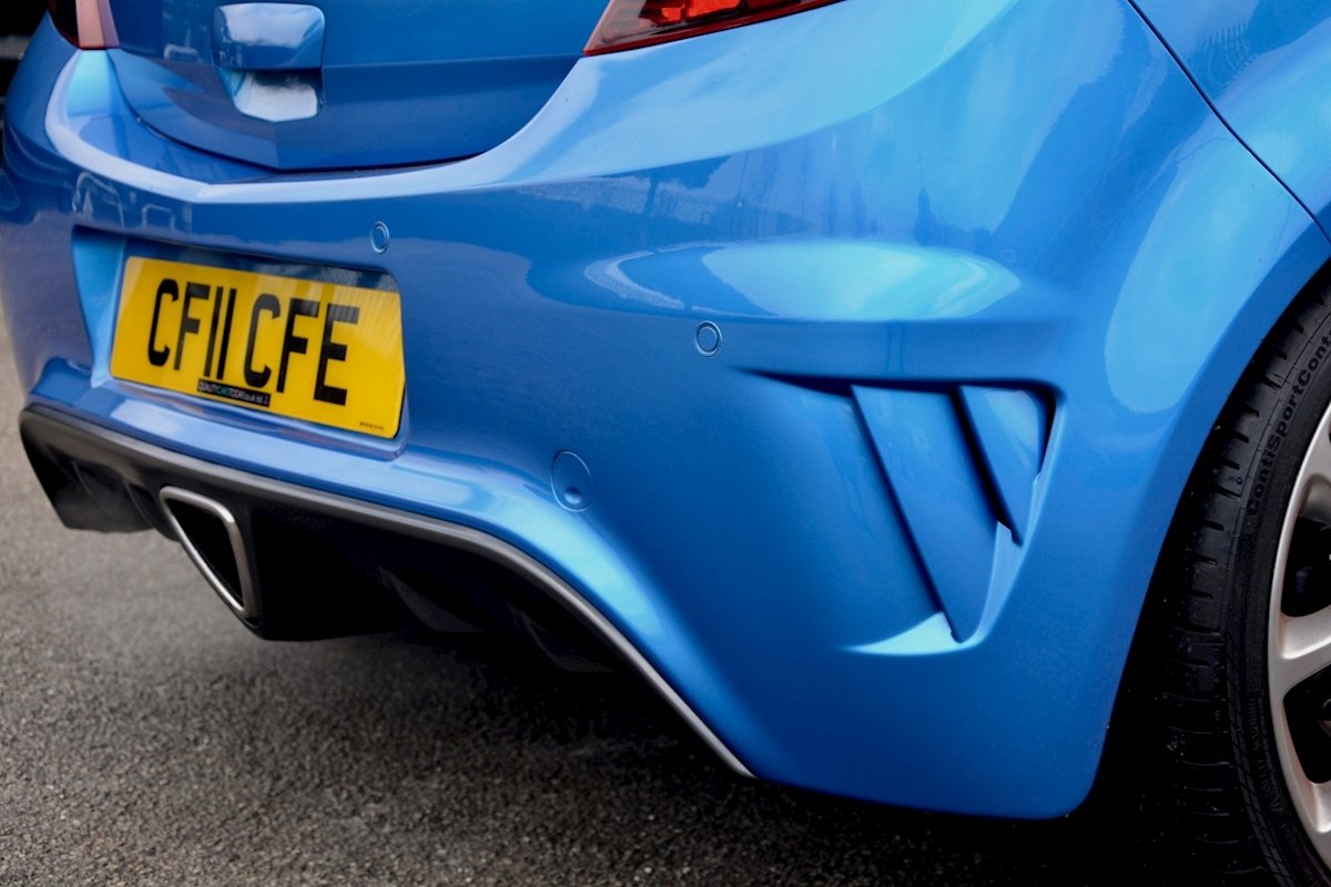 Vauxhall Corsa VXR Blue Edition Full Vauxhall Main Dealer History - Large 13