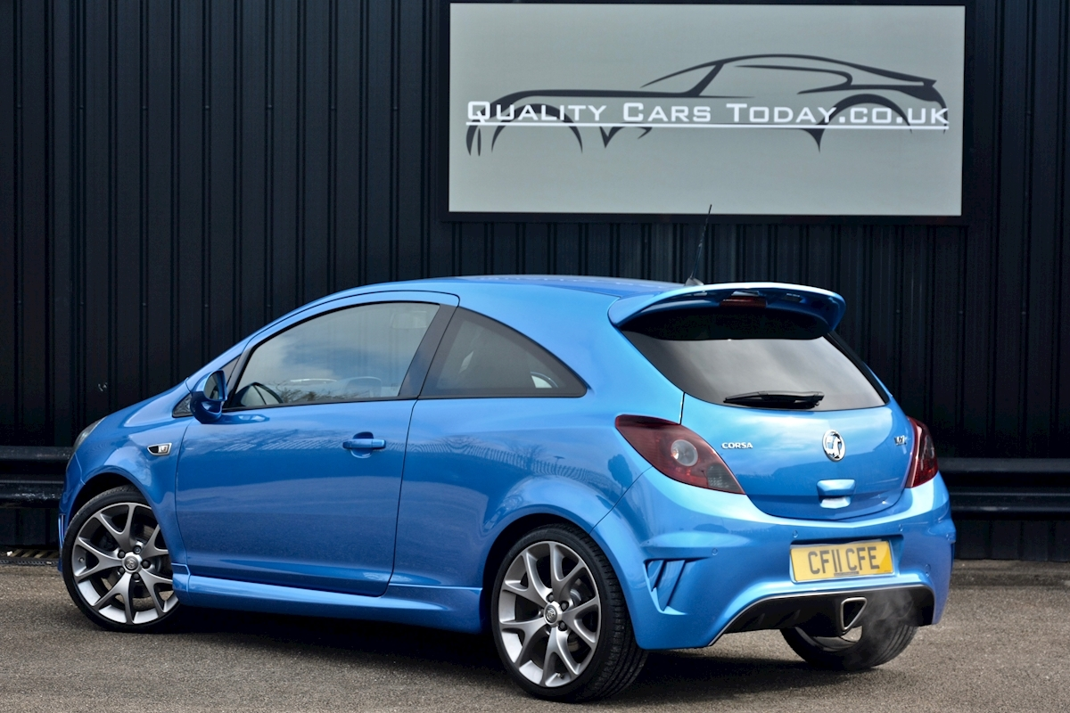 Vauxhall Corsa VXR Blue Edition Full Vauxhall Main Dealer History - Large 10