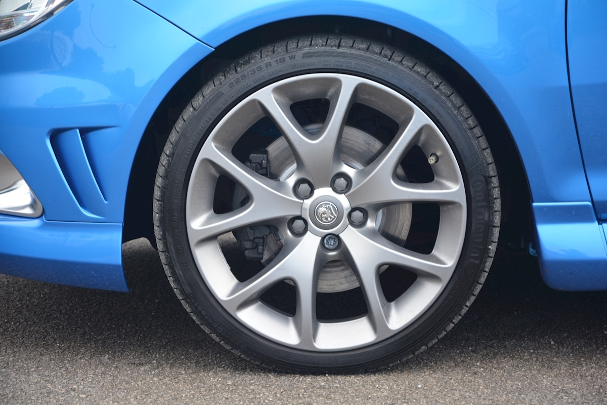 Vauxhall Corsa VXR Blue Edition Full Vauxhall Main Dealer History - Large 24