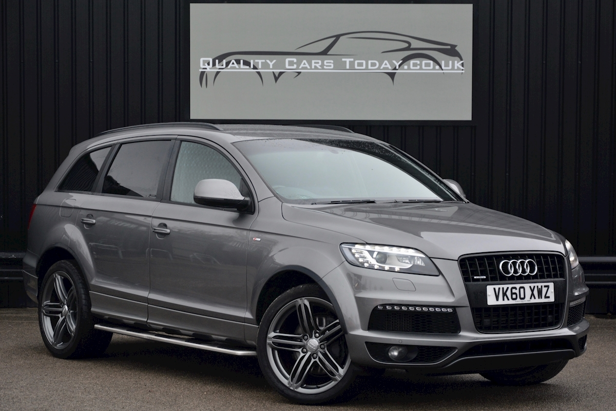Audi Q7 3.0 TDI S-Line quattro 1 Former Keeper + Full Audi Main Dealer History + High Spec - Large 0